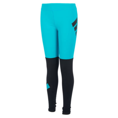 adidas Girls Mid Rise Legging - Big Kid