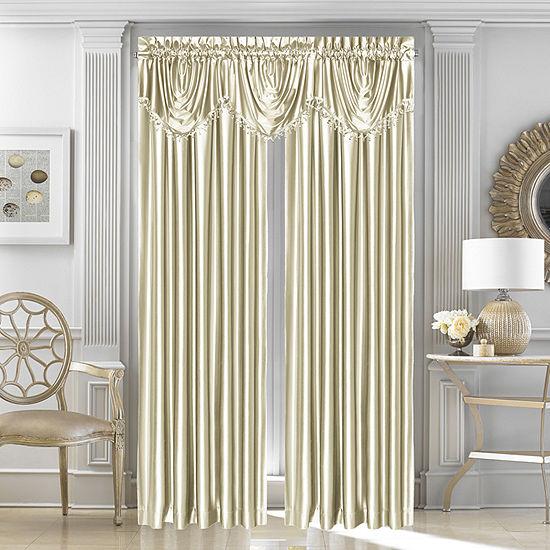 Queen Street Light-Filtering Rod-Pocket Single Curtain Panel