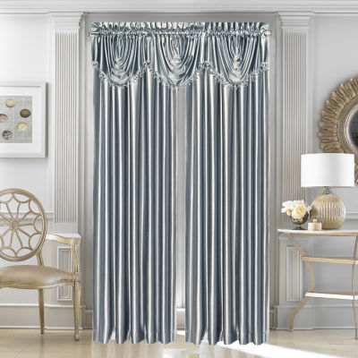 Queen Street Sonata Rod-Pocket Lined Curtain Panel