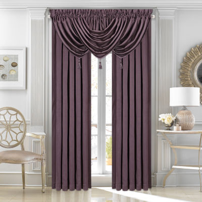 Queen Street Morocco Lined Rod-Pocket Curtain Panel