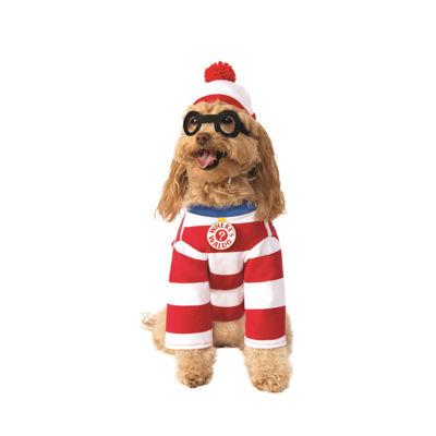 Buyseasons Wheres Waldo Woof Pet Costume