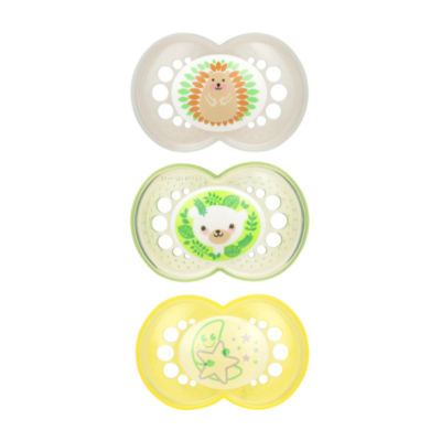 Mam Baby 3-pc. Pacifier - 2 Day and 1 Glow-in-the-Dark Night Pacifiers
