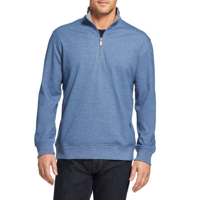 Van Heusen Flex Fleece Quarter-Zip Sweater
