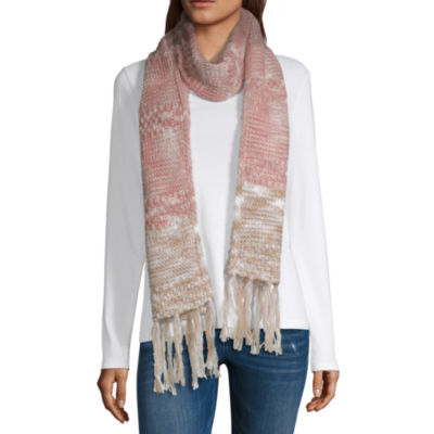 Mixit Colorblock Oblong Cold Weather Scarf