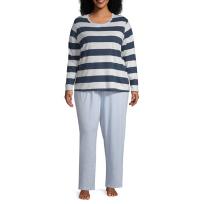 Sleep Chic Folded Pajama Sets-Plus