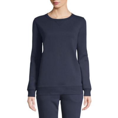 St. John's Bay Active Long Sleeve T-Shirt - Tall