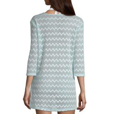 Porto Cruz Crochet Swimsuit Cover-Up Dress