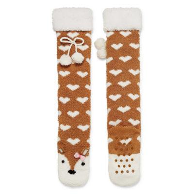 Arizona Deer Slippers Socks