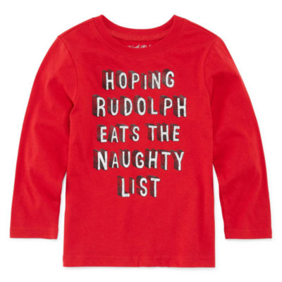 North Pole Trading Co. Christmas Graphic T-Shirt-Toddler Boys