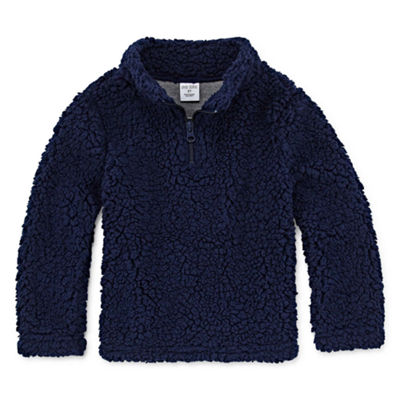 Okie Dokie Quarter-Zip Pullover-Toddler Boys
