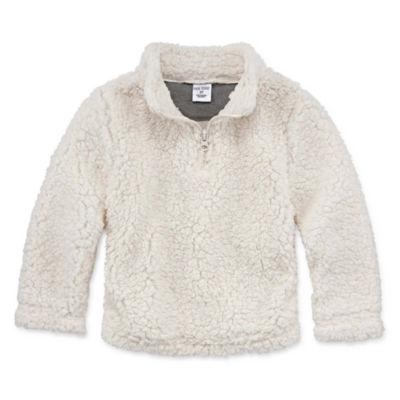 Okie Dokie Quarter-Zip Pullover-Toddler Boys