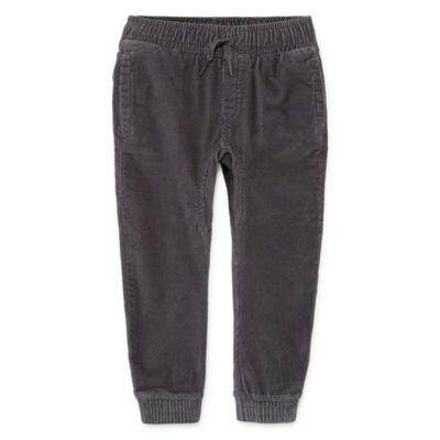 Okie Dokie Corduroy Jogger Pants-Toddler Boys