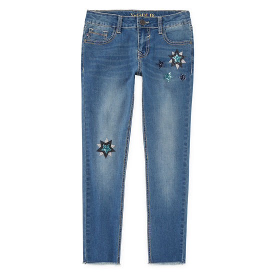 Vgold Stars in the Sky Skinny Jean - Girls' 4-16 & Plus