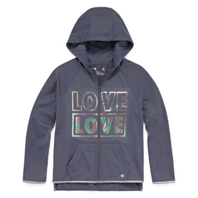 Xersion Poly Fleece Hoodie - Girls' 4-16 & Plus