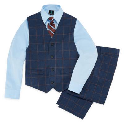 Steve Harvey 4-pc. Suit Set Boys 4-20