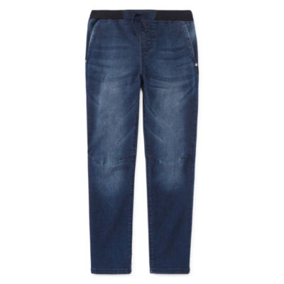 Arizona Slim Tappered Jeans Boys 4-20 Reg & Husky