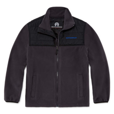 Weatherproof Polar Fleece Water Resistant Midweight Jacket-Big Kid Boys