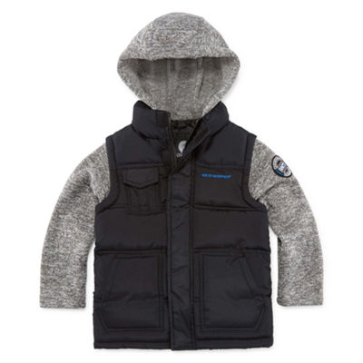 Weatherproof Puffer Vest Big Kid Boys