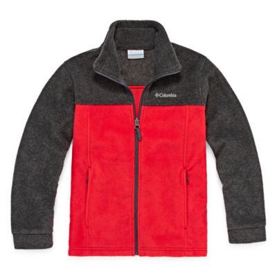 Columbia Fleece Lightweight Jacket-Big Kid Boys