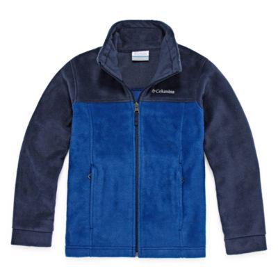 Columbia Lightweight Fleece Jacket-Big Kid Boys