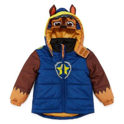 Outerwear - Boys Paw Patrol Heavyweight Puffer Jacket-Toddler