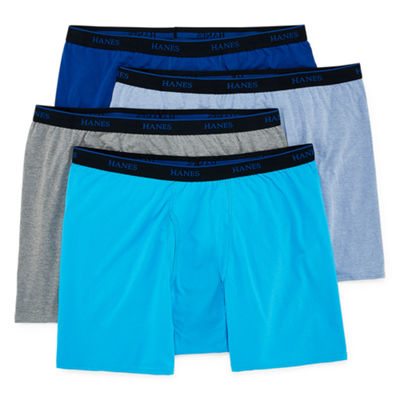 Hanes 4 Pair Boxer Briefs-Big