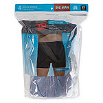 Hanes 4 Pack Boxer Briefs-Big