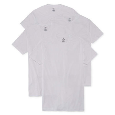 Stafford® 4-pk. Blended Cotton Crewneck T-Shirts