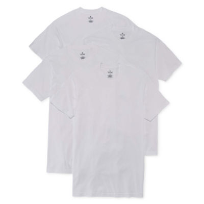 Stafford® 4-pk. Cotton Crewneck T-Shirts