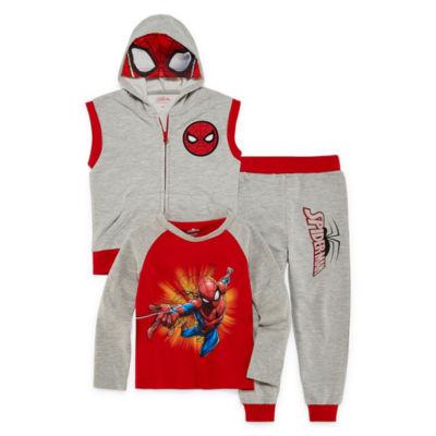 Spiderman 3-pc. Pant Set-Toddler Boys