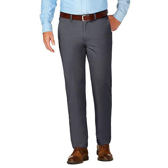 Jm Haggar Luxury Comfort Chino Slim Fit Pant