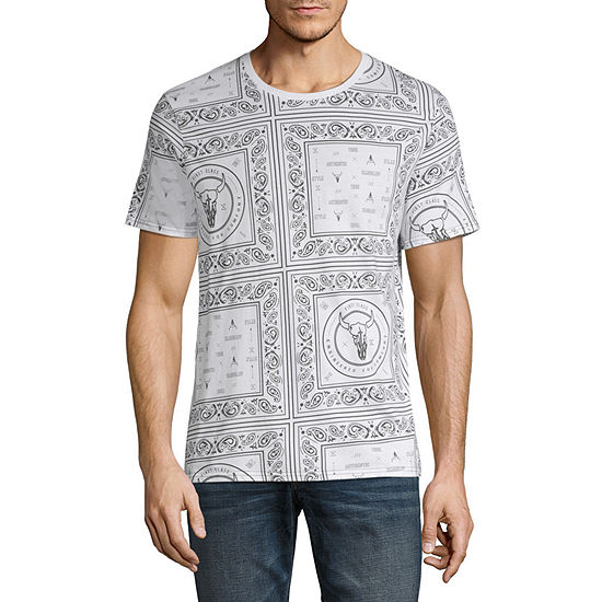 i jeans by Buffalo Mens Crew Neck Short Sleeve T-Shirt