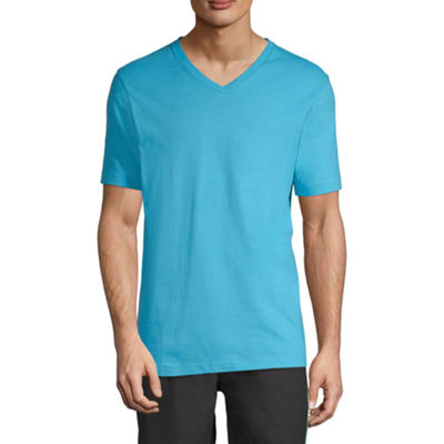 Xersion Mens V Neck Short Sleeve T-Shirt