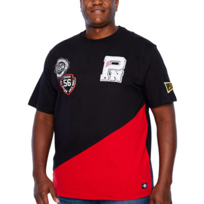 Parish Mens Crew Neck Short Sleeve T-Shirt-Big and Tall
