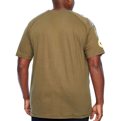 Parish Mens Crew Neck Short Sleeve T-Shirt-Big and Tall