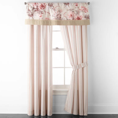 JCPenney Home Camilla Rod-Pocket Curtain Panel