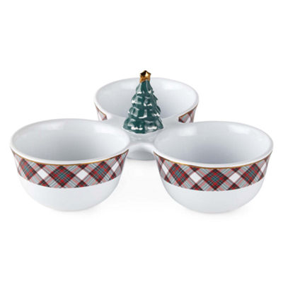 North Pole Trading Co. Yuletide Joy Dipping Bowl