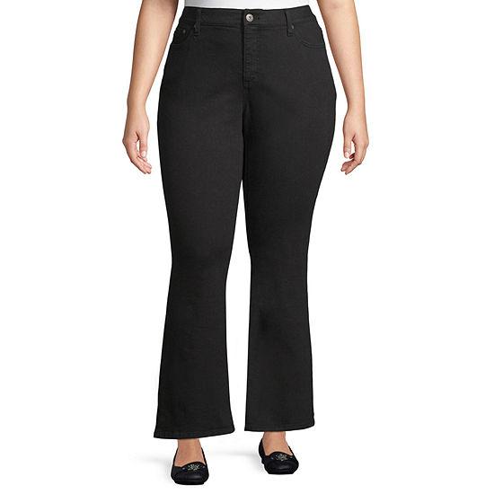 St. John's Bay Womens Classic Fit Bootcut Jean-Plus