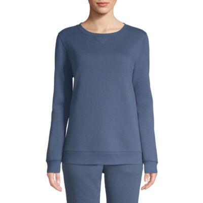 St. John's Bay Active Fleece Sweatshirt