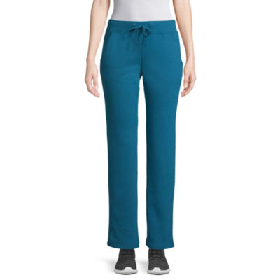 St. John's Bay Active Womens Mid Rise Straight Sweatpant