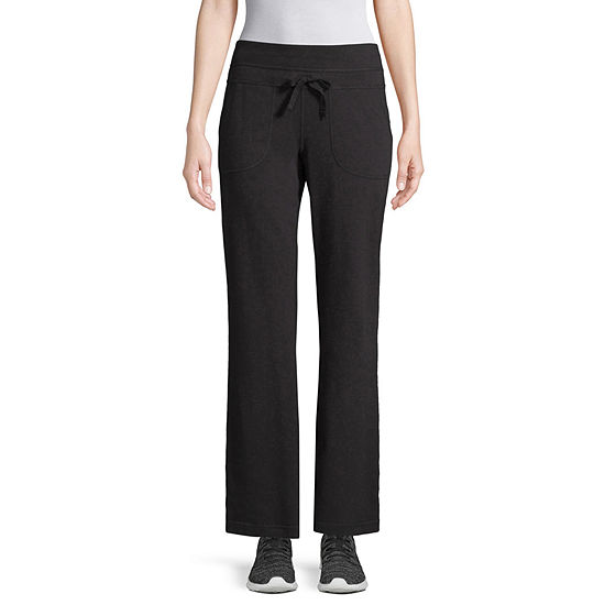 St Johns Bay Active French Terry Bootcut Pants