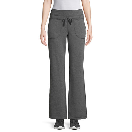 St. John's Bay Active French Terry Bootcut Pants
