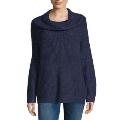 a.n.a Womens Cowl Neck Long Sleeve Pullover Sweater