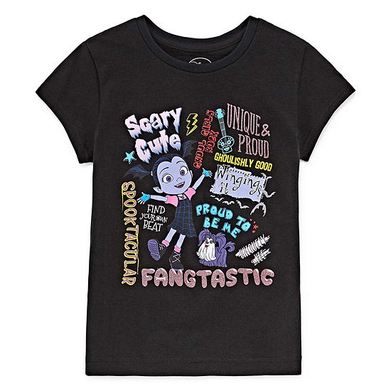 Disney Girls Short Sleeve Vampirina Graphic T-Shirt - Kids