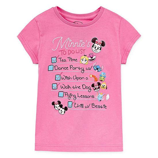 Disney Princess Graphic T-Shirt-Big Kid Girls
