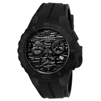 Invicta Cruise Mens Black Strap Watch-Tm-115082