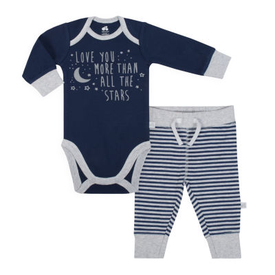 Just Born Organic 2 Piece Pant Set - Baby Boys