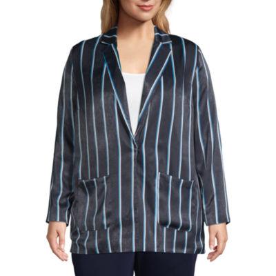 Worthington Long Sleeve Soft Button Jacket