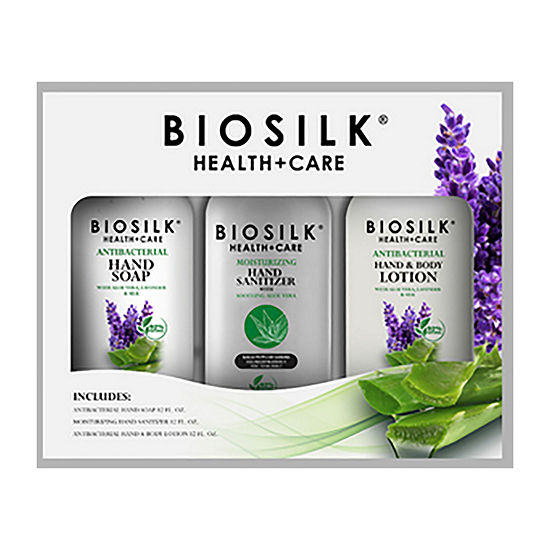 BioSilk Health + Care 3pc Value Set 3-pc. Value Set