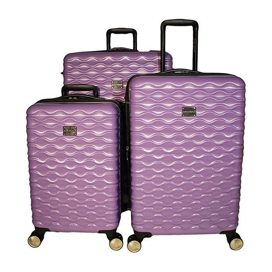 Kathy Ireland Maisy 3-pc. Hardside Lightweight Luggage Set